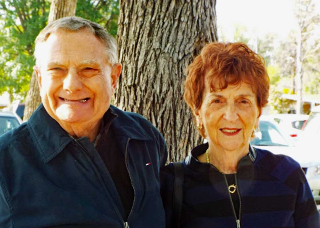 Stu and Ann Finke
