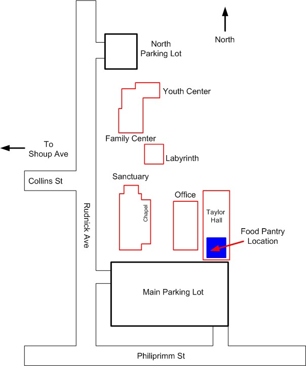 Food Pantry Location at POP